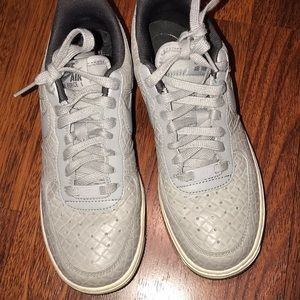 Grey Nike Air Force One